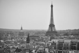 Vue industrielle de la Tour Eiffel